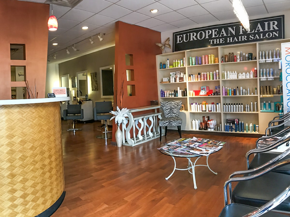 European Flair The Hair Salon